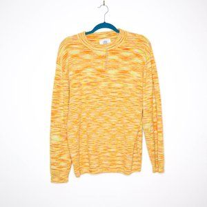 Urban Outfitters   NEW Marbled Orange Sweater S